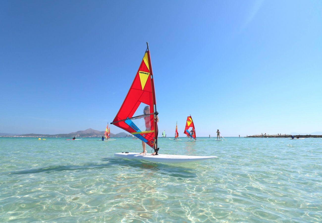 Casa en Port d´Alcudia - Mar y Lago, Beach House 5StarsHome Mallorca