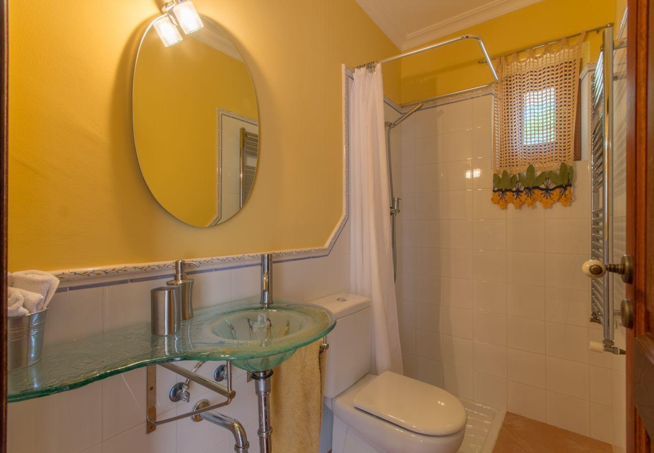4 habitaciones dobles, 1 habitación para invitados, 3 baños, AC, WIFI, jardín, piscina, vistas a la montaña es ideal familias