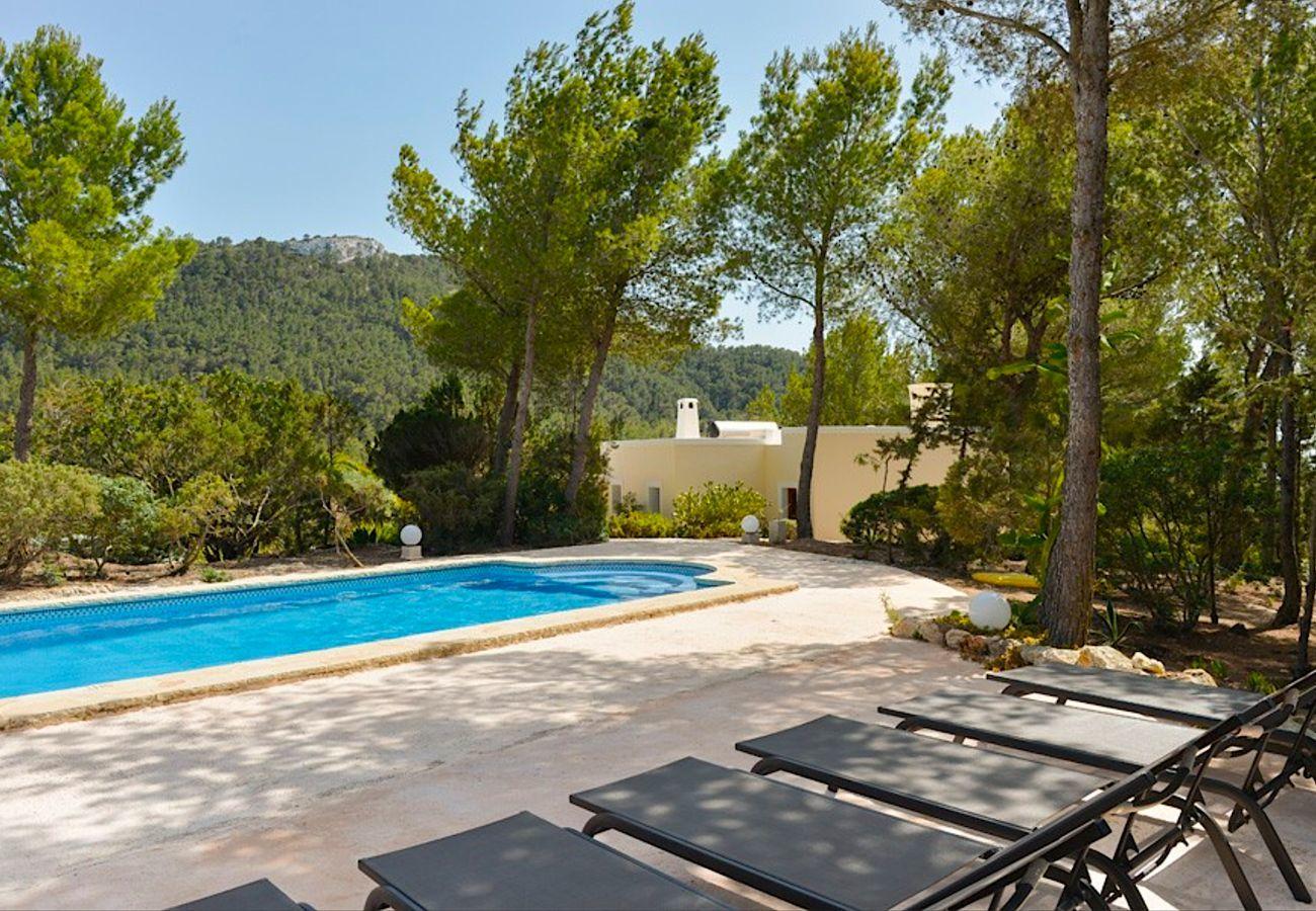 Landhaus mit Pool für 8 Personen in Sant Josep de sa Talaia, Ibiza.