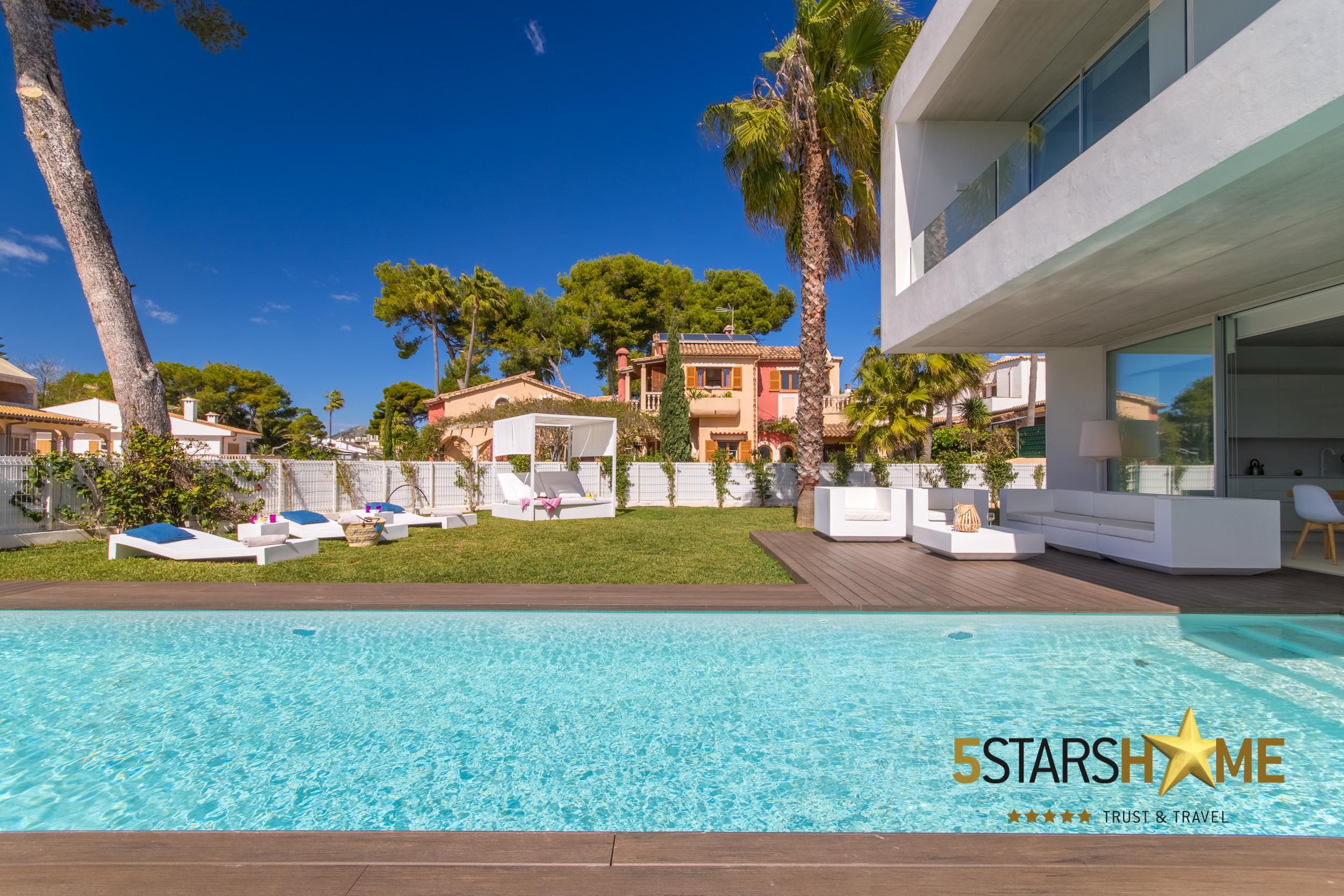 cb5cae60d Villa con piscina para 8 personas en Playa de Muro, Mallorca