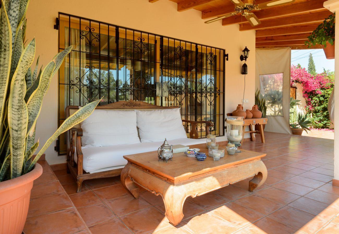 Casa rural en San Rafael de Sa Creu/ Sant Rafael de Sa Creu - Can Safres Raco, Finca 5StarsHome Ibiza