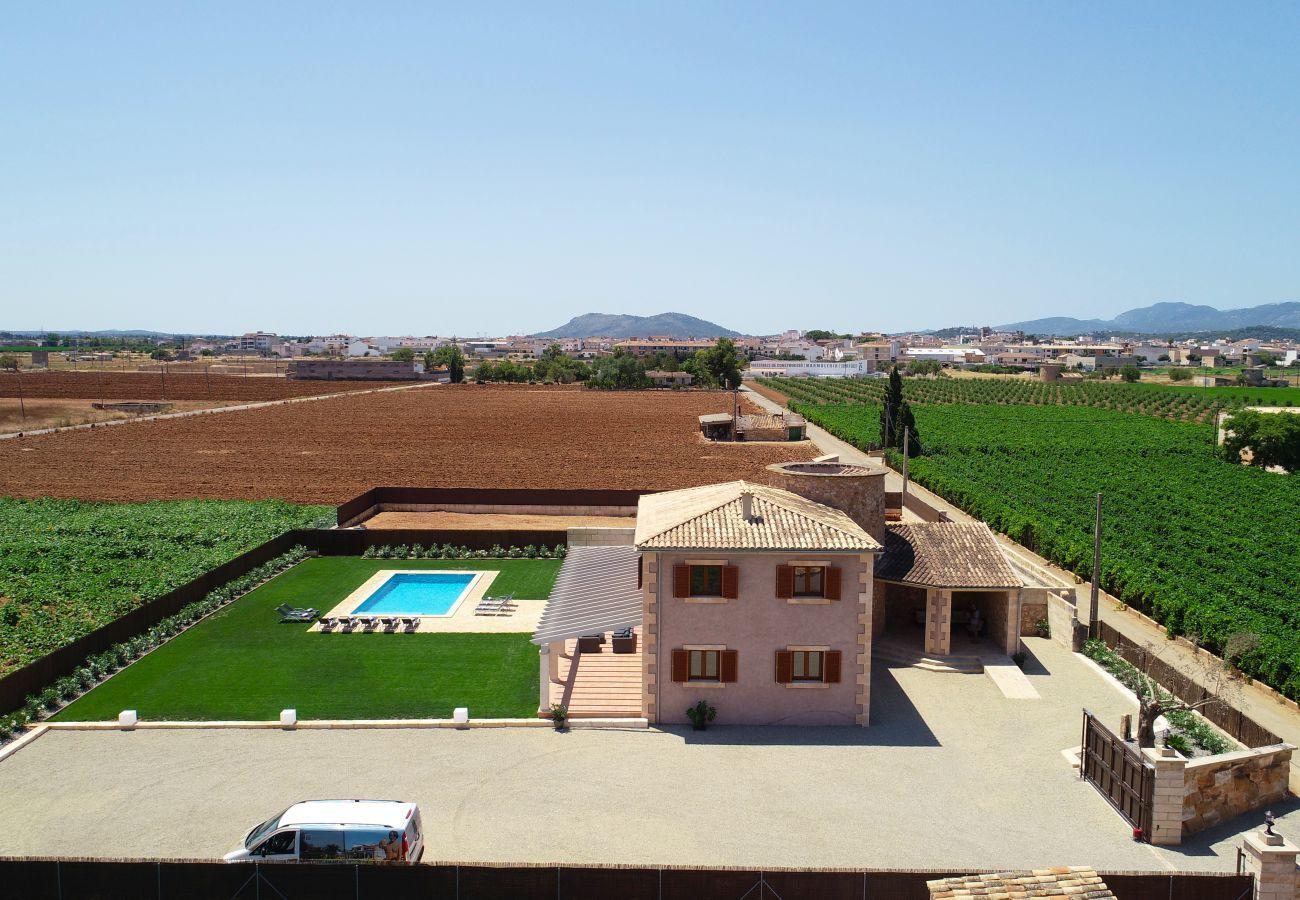 Villa en Sa Pobla - Es Moli d'en Sion, Villa-Finca 5StarsHome Mallorca