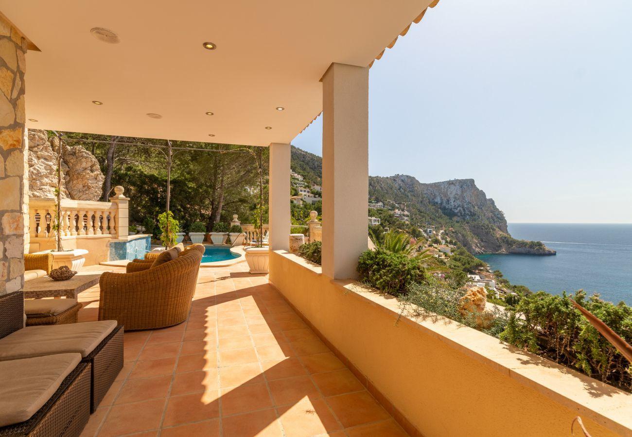 Villa en Port d' Andratx - Llamp Sea View, Villa 5StarsHome Andratx